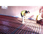 Under Floor Heating Pipes